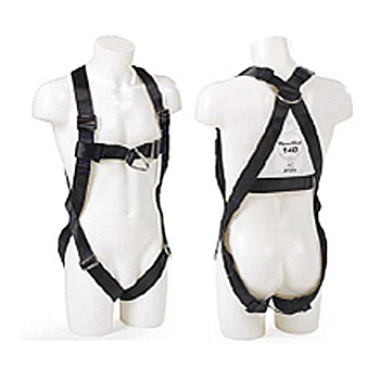 SpanSet (UK) Altas 2-Point Body Harness (w front & back D ring) c/w