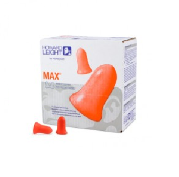 Howard Leight Max 1 Disposable Uncorded Earplug