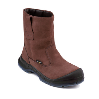 OWT805KW OTTER Water resistant nubuck leather pull-up boot